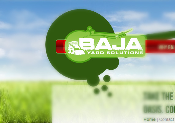 Custom Logo Design for BAJA Yard Solutions - Edmonton Landscaping Company