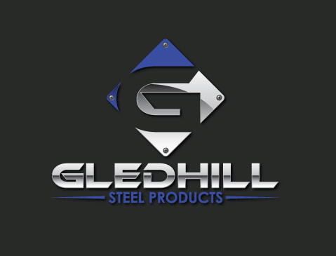 Brand New Logo Design for Gledhill Steel Products - launch date: 2014