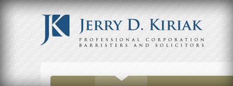 New Logo Design for Kiriak Family Law Firm of Edmonton.